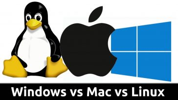 Windows Mac OS Linux