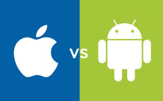 logo Apple Android